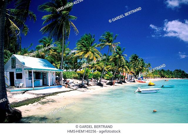 France, Guadeloupe French West Indies, Grande Terre, Meridien hotel beach at Saint Francois