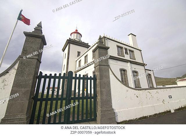 Ponta da Ferraria lighthouse, Sao Miguel, Azores, Portugal