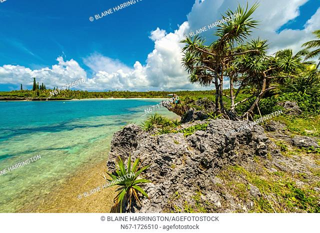 Mou Beach, Lifou island, Loyalty Islands, New Caledonia