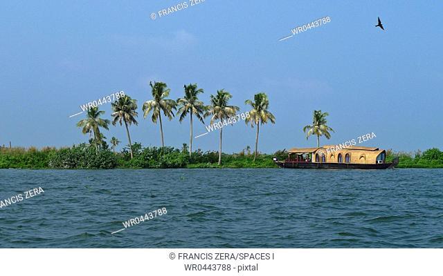Houseboat at Sea