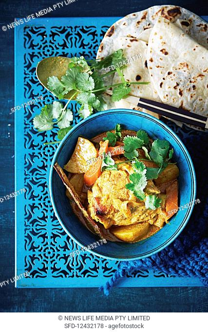 Malaysian Kari Kay chicken curry