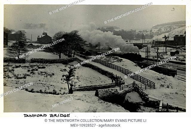 Railway Station, Dunford Bridge, Sheffield, near Holmfirth, Yorkshire, England. Great Central Railway