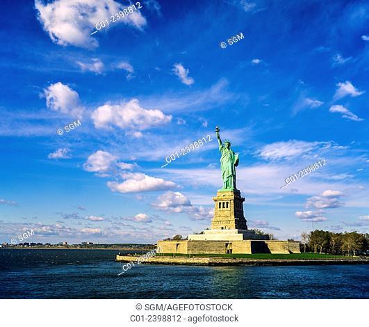 Statue of Liberty island, New York, NY, USA (November 1995)