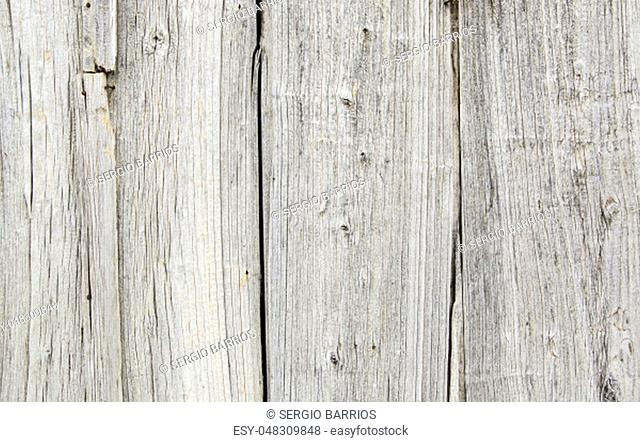 Old and spoiled white wood background, textured background detail