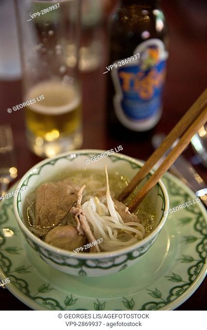 vietnamese soup pho bowl Vietnam