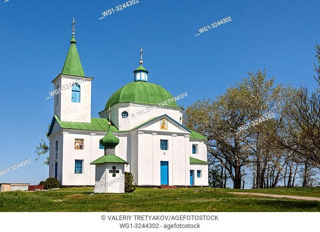 Shandra, Kyiv region, Ukraine - St. Michael's Church (1863) in the village of Shandra, Mironivsky district, Kyiv region, Ukraine