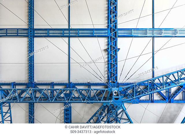 Structural detail from the Graf Zeppelin airship in theFriedrichshafen Zeppelin Museum, Friedrichshafen, Baden Wurttemberg, Germany