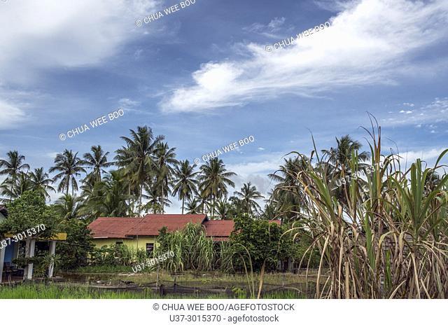 Kampung Sei Kakap, Pontianak, West Kalimantan, Indonesia