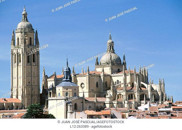 Cathedral. Segovia. Castilla-Leon. Spain
