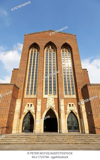 Exterior views of Guildford Cathedral