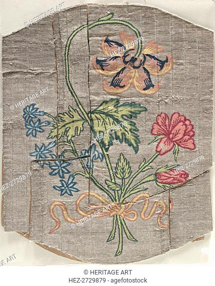 Fragment, early 1600s. Creator: Unknown