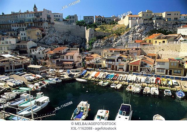 Vallon des Auffes Marseille Provence France