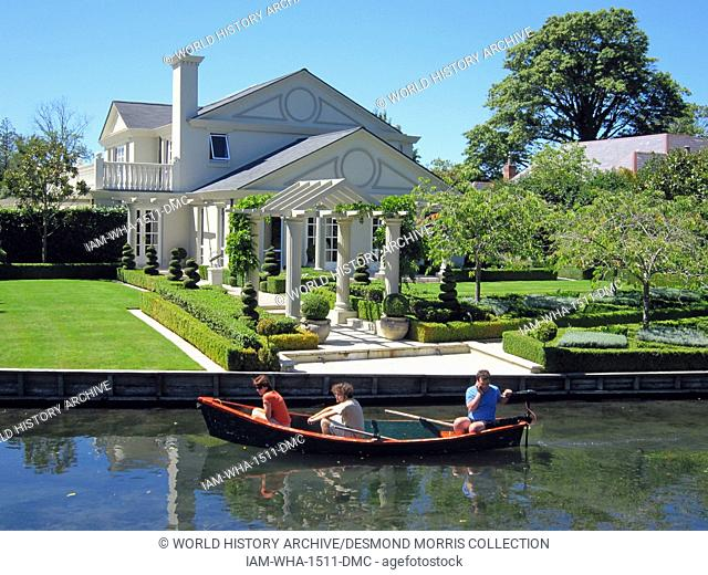 House christchurch new zealand Stock Photos and Images | age fotostock