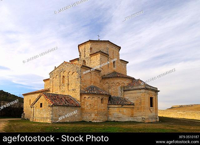 Romanesque church of La Anunciada. Urueña. Valladolid province. Castilla y León. Spain