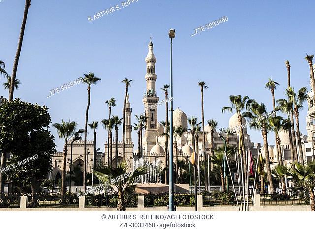 Mosque Square (Midan el Masaged), Abu al-Abbas al-Mursi Mosque, Alexandria, Egypt