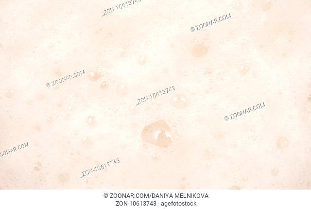 close up shot of white foam