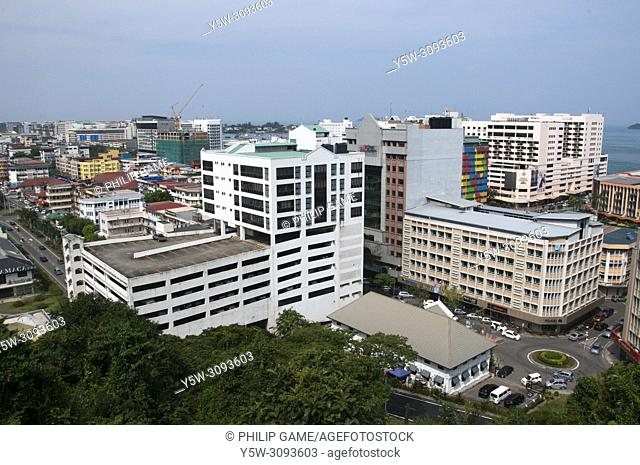 Kota Kinabalu, the capital of the state of Sabah in Malaysian Borneo, was almost completely rebuilt after World War Two. Up to that time it had been named...