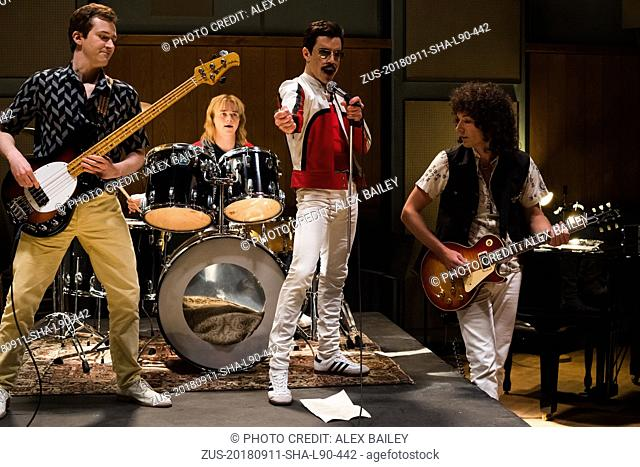 RELEASE DATE: November 2, 2018 TITLE: Bohemian Rhapsody STUDIO: Twentieth Century Fox DIRECTOR: Dexter Fletcher, Bryan Singer PLOT: A chronicle of the years...