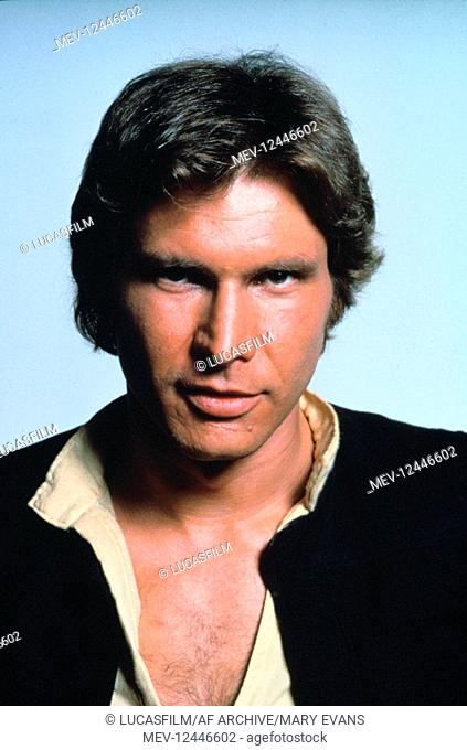 Harrison Ford Characters: Han Solo Film: Star Wars; Star Wars: Episode Iv - A New Hope (USA 1977) / Neuer Titel Auch: 'Star Wars: Episode Iv û Eine Neue...