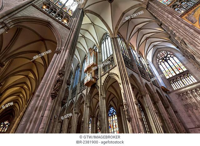 Cologne Cathedral, Unesco World Heritage Site, North Rhine Westphalia, Germany, Europe