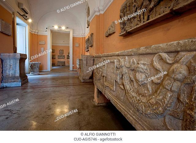 Museo Correale di Terranova museum, Villa Correale, also called Villa della Rota, Sorrento, Campania, Italy, Europe