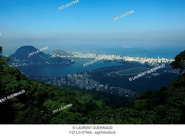 Hill Tijuca, View Rio, City, Rio de Janeiro, Brazil