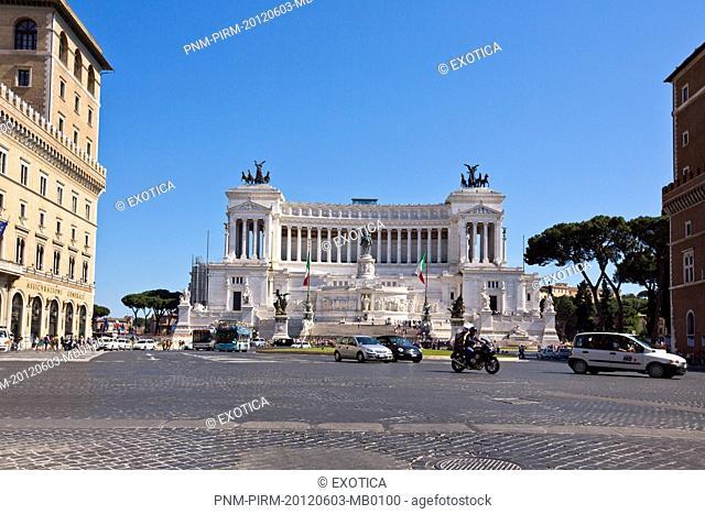 Vittorio Emanuele Monument in Rome, Lazio, Italy