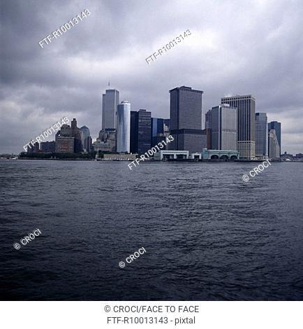 Twin towers, Manhatten, New York, America