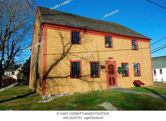 Old meeting house, barrington, nova scotia