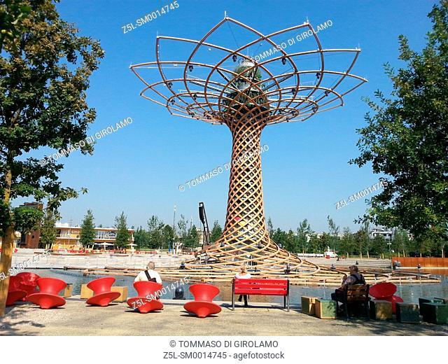 Italy expo 2015, tree of Life