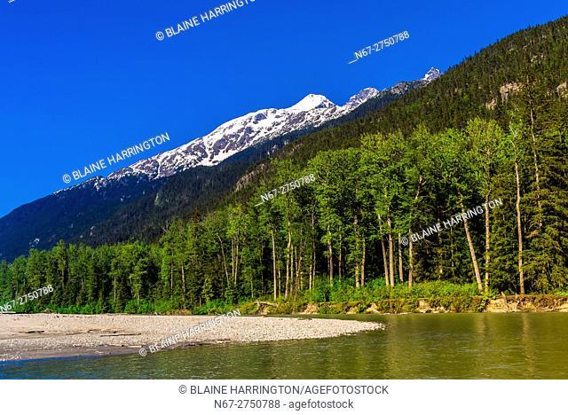 Rafting trip on the Taiya River with Skagway Float Tours, Dyea (near Skagway), Alaska USA