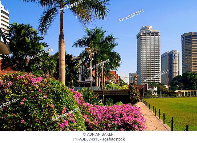Malaysia Kuala Lumpur The Royal Selangor Club in Merdeka Square Adrian Baker