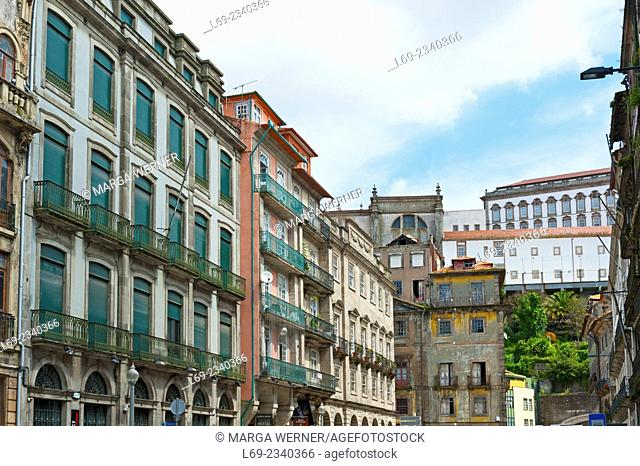 Historic old town of Porto, Portugal, Europe