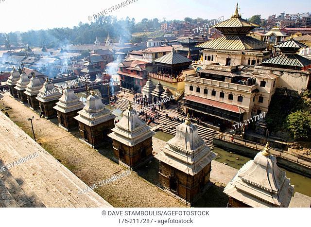 The holy temple of Pashtupatinath, Kathmandu, Nepal