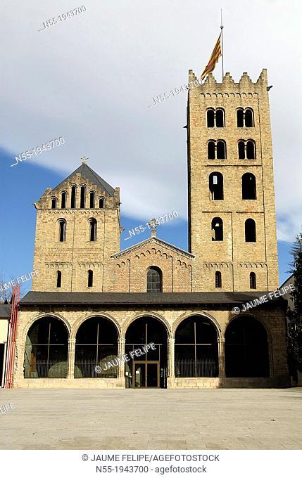 Monastery of Santa Maria de Ripoll IXth century, Ripoll, Ripollès, Girona, Catalonia. Espanya