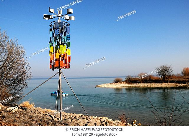 Anemometer at Lake Constance