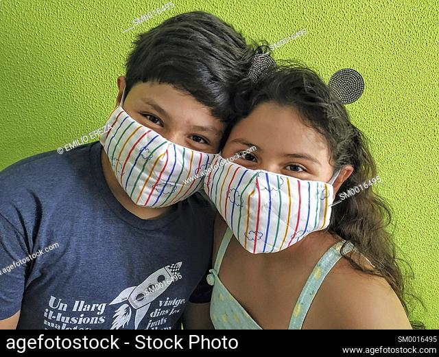 Wearing a masks for covid19