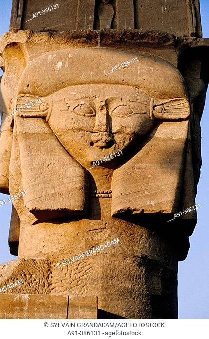 Temple of Kalabsha near Aswan on Lake Nasser bank. Nubia. Egypt