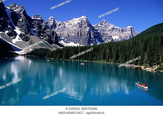 Canada, Alberta, the Rockies, Banff National Park, Moraine lake