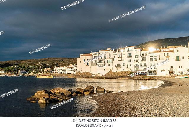 Village of Cadaques, on the Costa Brava, Spain