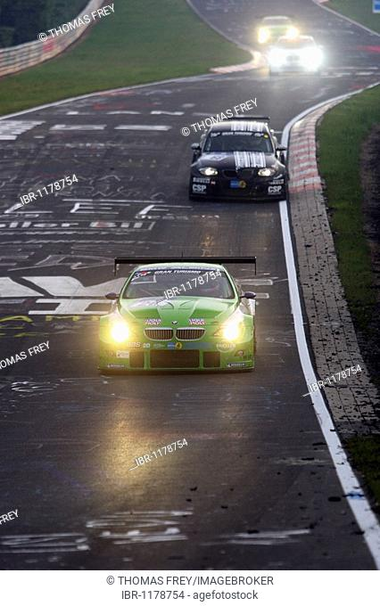 24-hour race at the Nurburgring race track, the BMW of the ALPINA team with Bovensiepen, Andreas D - Buchloe Alpina Wirth, Andreas D - Waghaeusel Engstler