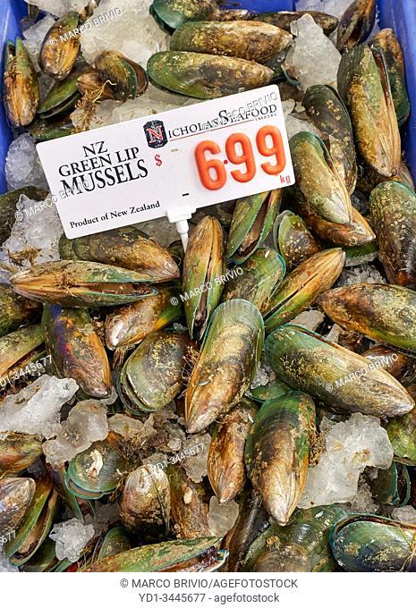 Sydney Australia. The Fish Market