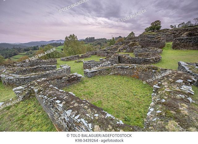 castro de Coaña , siglo IV a. C. , Monumento Histórico Artístico, Villacondide, Coaña (Asturias,