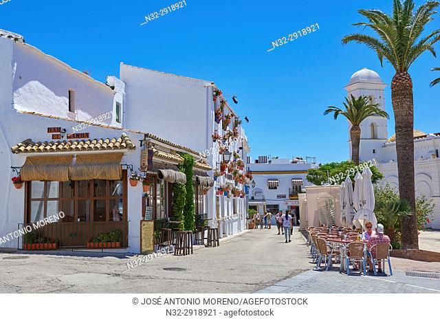 Conil de la Frontera. Costa de la Luz. White Town, Cadiz Province. Andalucia. Spain