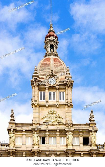 Maria Pita council house - Corunna, Spain