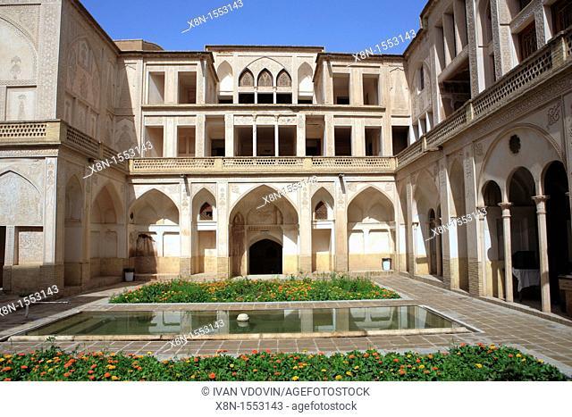 Meydan mosque 1463-1468, Kashan, province Isfahan, Iran