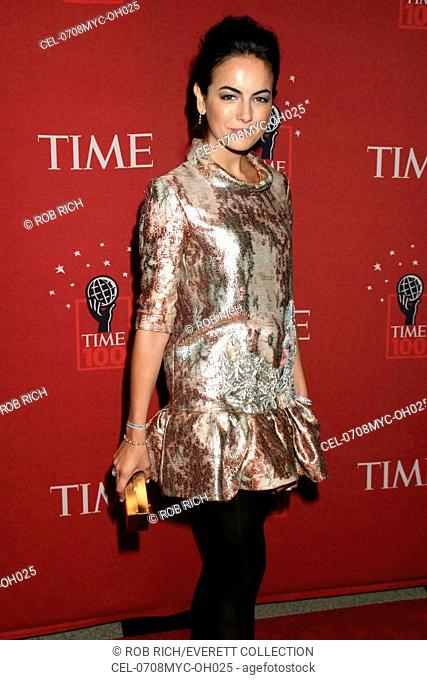 Camilla Belle (wearing a Christian Lacroix dress) at arrivals for The TIME 100 Gala, Jazz at Lincoln Center, Time Warner Center, New York, NY, May 08, 2007