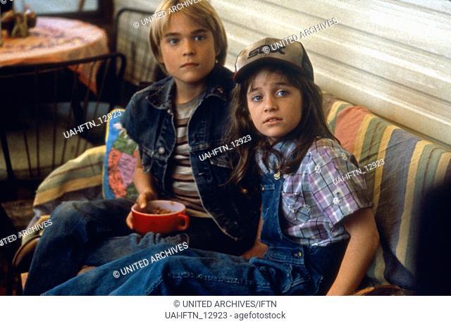 Help Wanted: Kids, aka: Job Busters, USA 1986, Regie: David Greenwalt, Darsteller: Chad Allen, Hillary Wolf