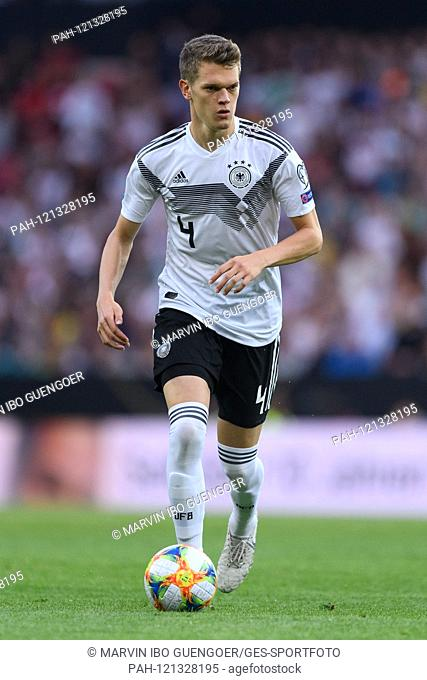 Matthias Ginter (Germany). GES / Soccer / EURO Qualification: Germany - Estonia, 11.06.2019 Football / Soccer: European Qualifiers: Germany vs Estonia, Mainz