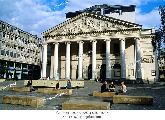Belgium Bruxelles Theatre de la Monnaie
